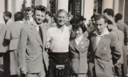 Kenny Phillips In Moscow, 1957
