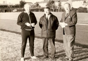 James P Shields, Frank Gemmell and Jim Young