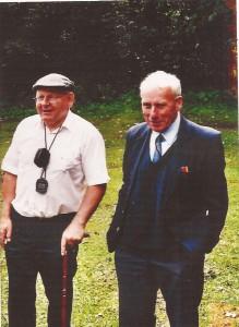 Raymond Hutcheson and Cecil McPherson
