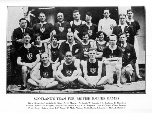 Scottish team, 1930 British Empire Games