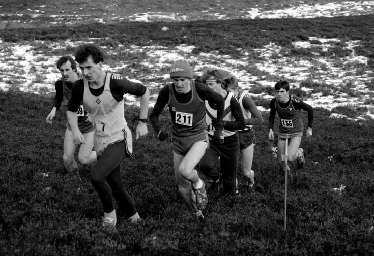 Carnethy Hill Race, 1985..