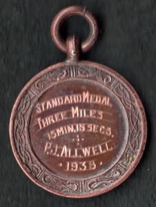 Medal Allwell clearly did not