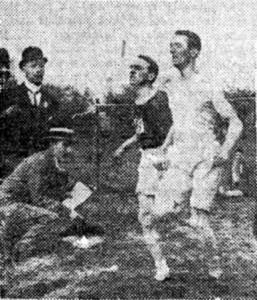 John McGough pips Douglas McNicol in 1910 SAAA
