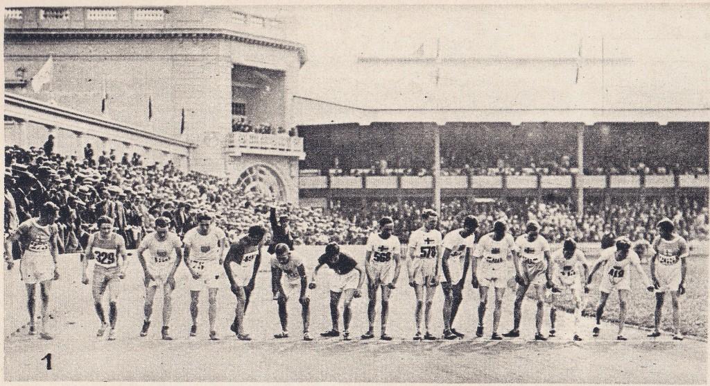 1920 OG 5000m start Le Miroir Sport
