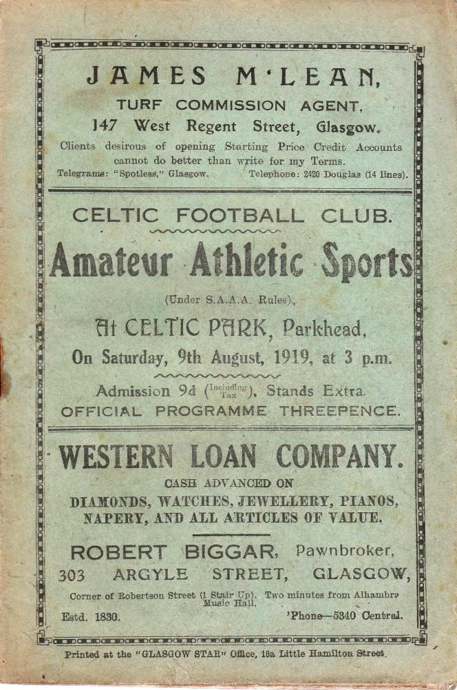 Celtic 1919