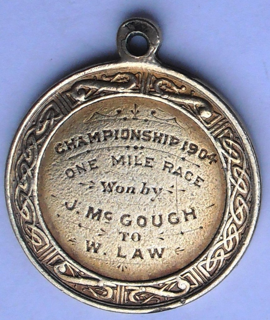 McGough SAAA Mile Medal 1904