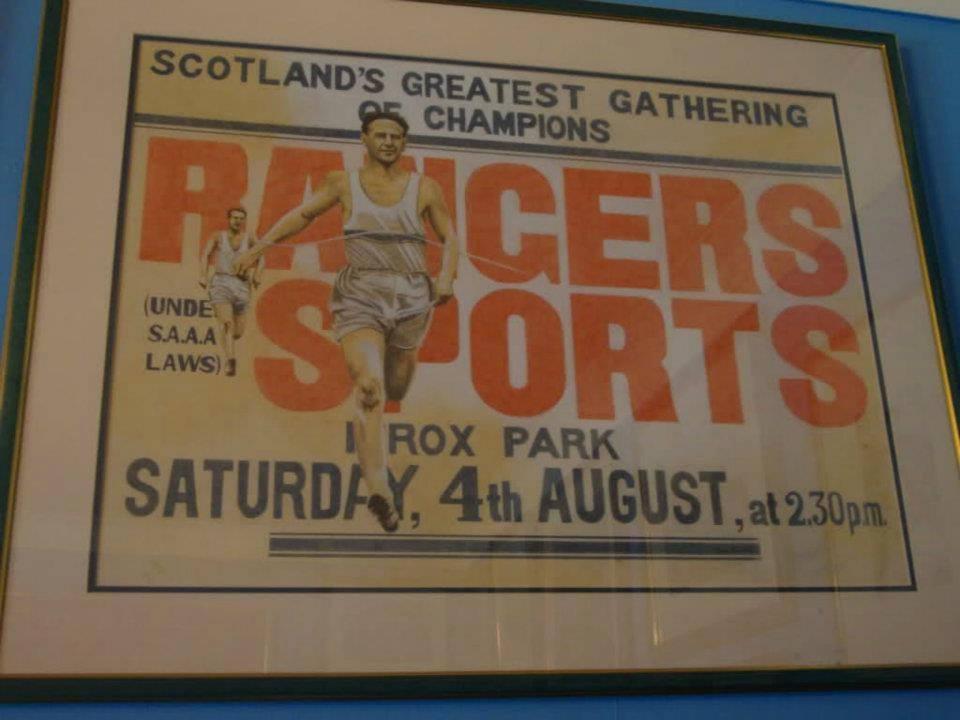 Rangers Poster 1934