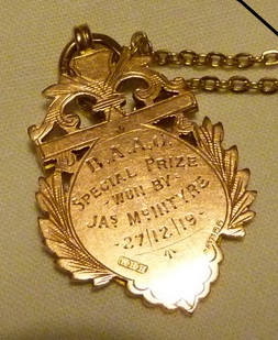 3 Special gold award 1919