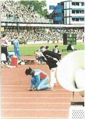 George in stadium