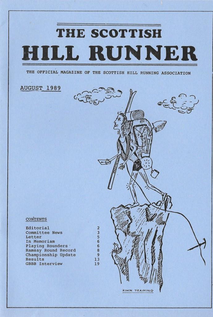 SHR Aug 89