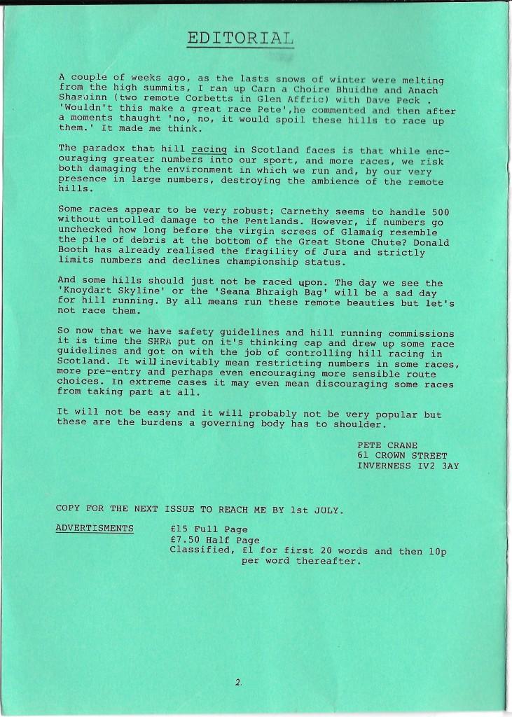 SHR May 89 2