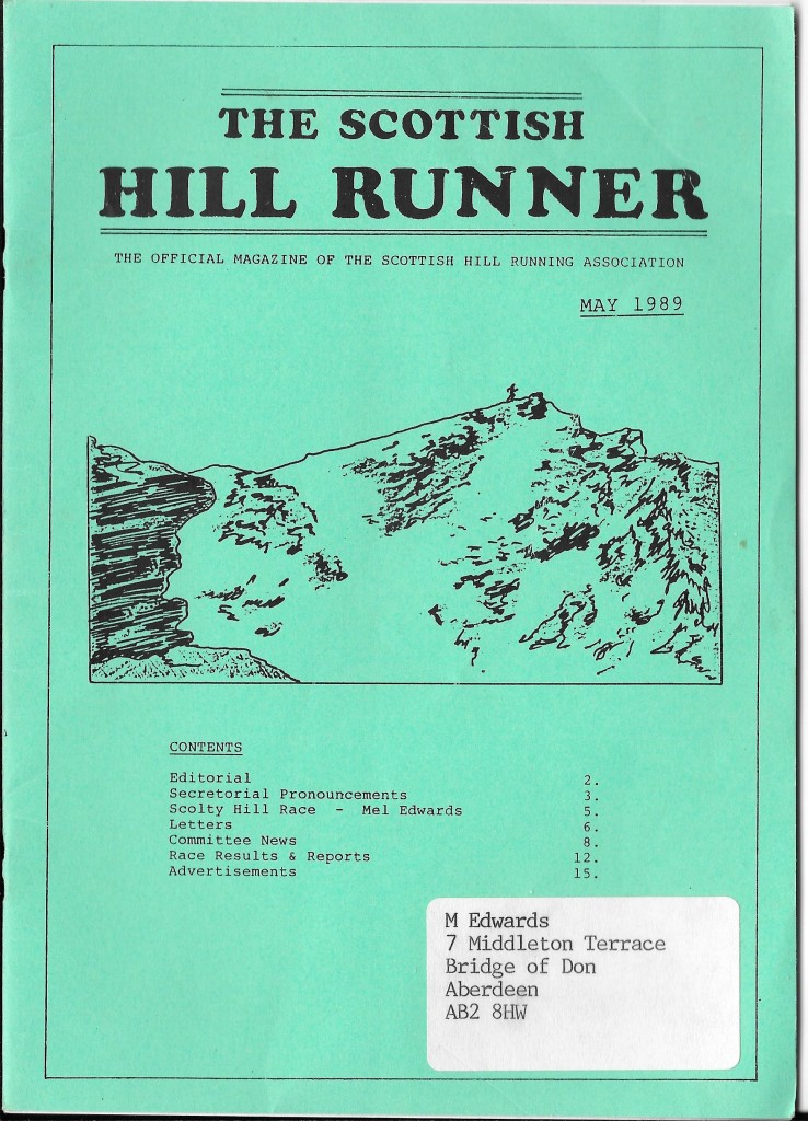 SHR May 89