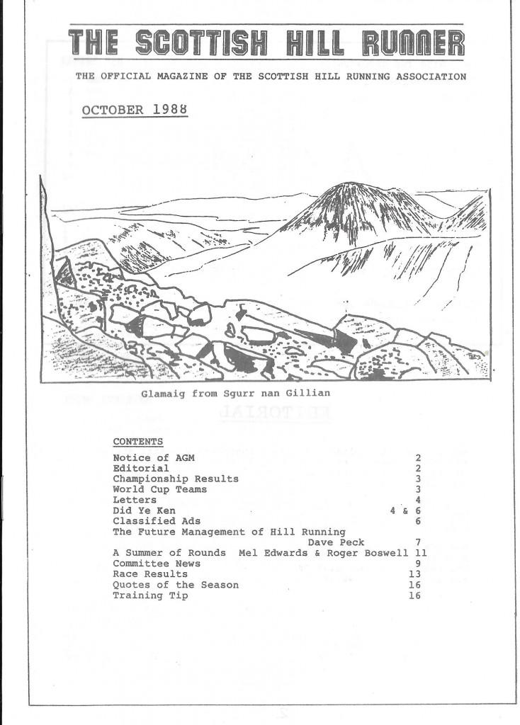 SHR Oct 88