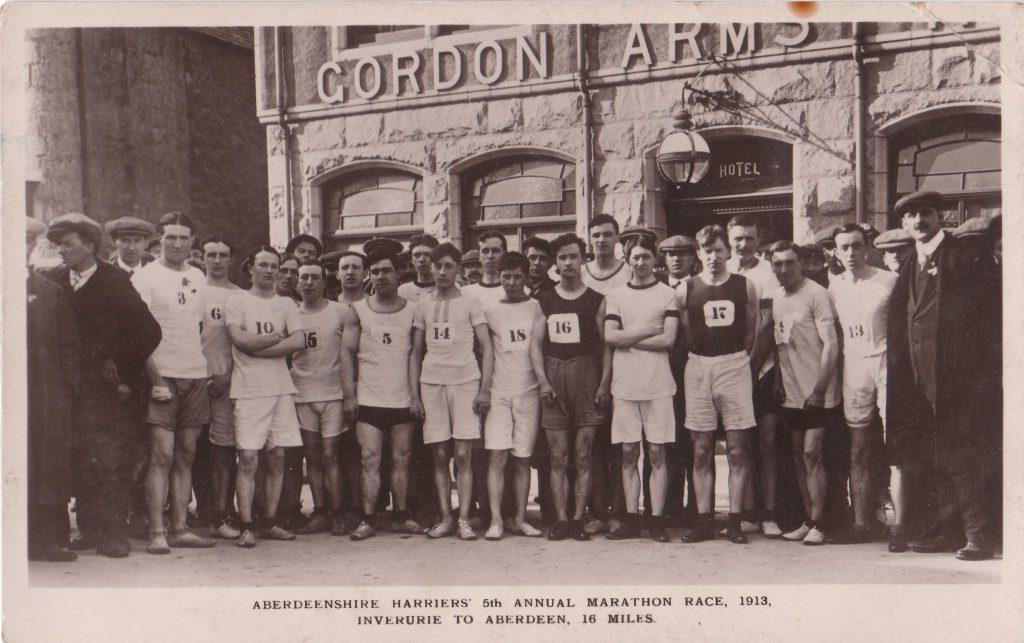 1913 ABERDEENSHIRE HARRIERS MARATHON MULTISCAN
