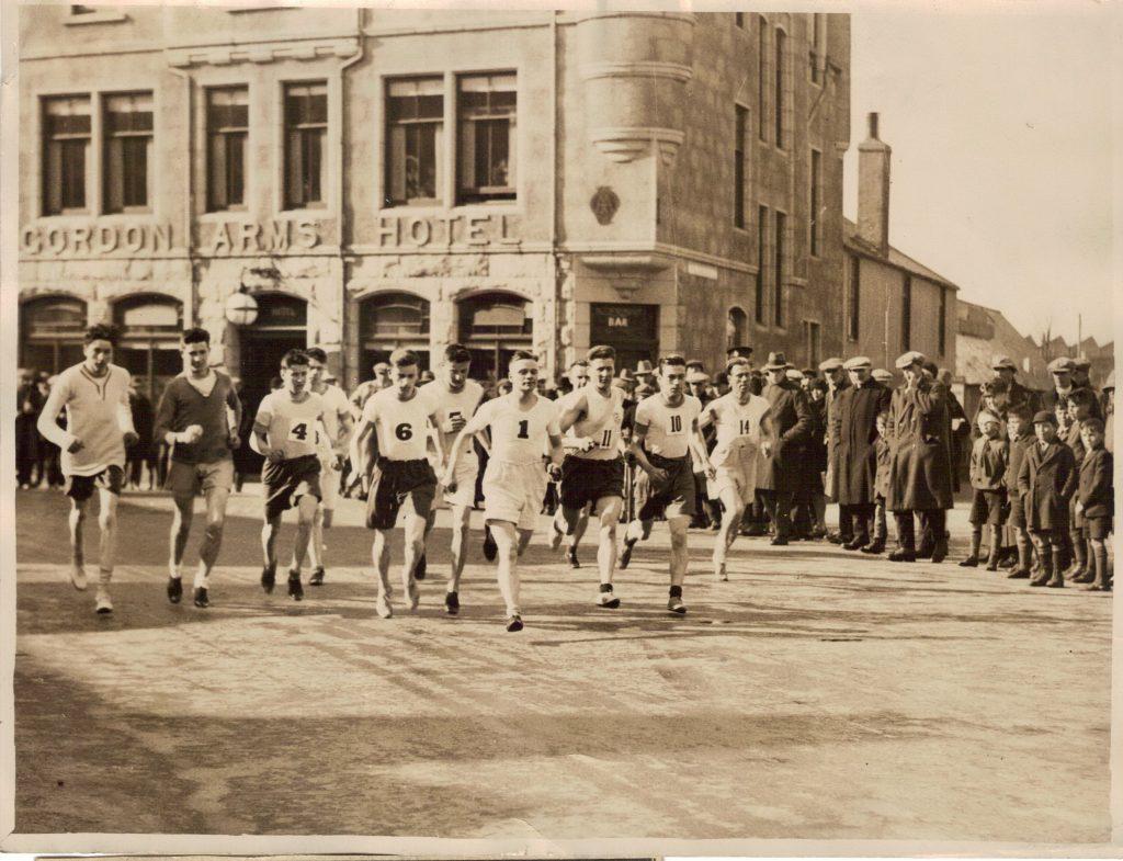 1929 Aberdeenshire Harriers Marathon E[1].G. Marshall (cropped)