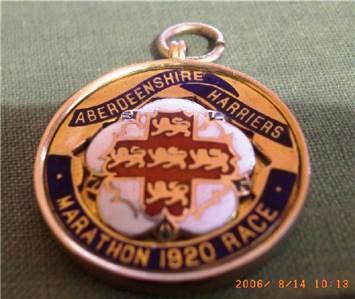 Medal -Aberdeenshire Harriers Marathon Race 1920 (2)